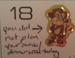 This is what Monkey Business looks like at Chez Every48. Cop to it, figure out what I did wrong, move on.