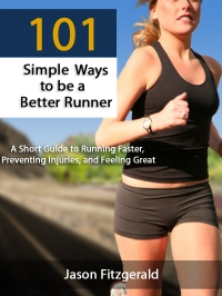 I'm feeling better today. Like the girl on the cover of this book. Ready to run.