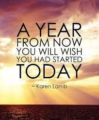 And imagine how you'll feel five years from today if you start right now. Awesome. That's how you'll feel.