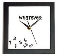 This is the kind of clock I used to live by when it came to having regular, healthy habits. Yup. I confess.