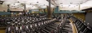 Happiness - for me, right now, at this moment in my life - is a fancy gym where I can do just about any kind of exercise you could imagine.