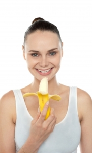 This is me, about half an hour after a marathon. Potassium, potassium, potassium! (Image courtesy of stockimages / FreeDigitalPhotos.net)