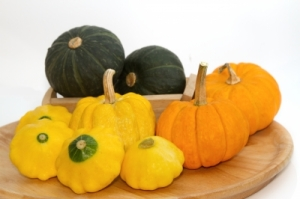 More food porn! I started to love the squash family when I realized how versatile it was: acorn, butternut, spaghetti, patty pan...and pumpkin! (Image courtesy of Praisaeng / FreeDigitalPhotos.net)