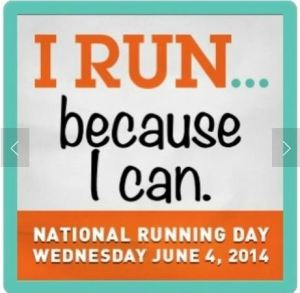 From the National Running Day website (www.runningday.org). Why do you run?