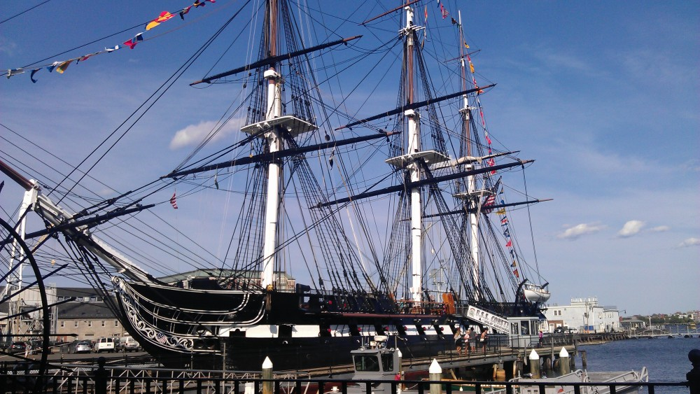 Old Ironsides. From an epic walk in Boston with my hubby this past weekend.
