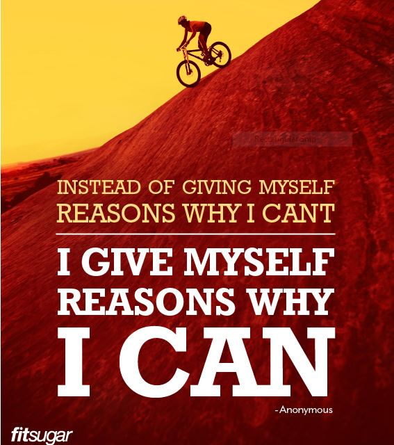 Oh, yes you can. Thanks to FitSugar for this great meme (and a bunch of others here: http://www.fitsugar.com/photo-gallery/22092629/Motivational-Fitness-Quotes)