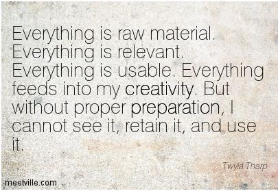 Today's fitness meme of the week is really about creativity, and using it to our advantage to move forward, no matter what we have in our pasts. Thanks to meetville.com for this one!